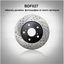 BDF027. Передняя ось. Перфорация + слоты