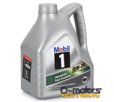 Моторное масло Mobil 1 0W-20 (4л.)
