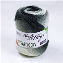 Пряжа YEAR SOCKS, 12 Декабрь, 400м в 100г, Woolly Hugs