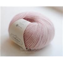 Пряжа Snefnug Розовый нежный 7357, 110м/50г, CaMaRose, Lys rosa