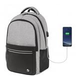 "Рюкзак для ноутбука 15"" с USB Brauberg Urban Detroit 22 л 229894"