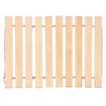 Коврик деревянный для бани и сауны Банные Штучки липа 32134