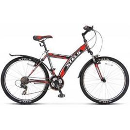 Велосипед Stels Navigator 550 V V010 Серый/Черный/Красный, интернет-магазин Sportcoast.ru
