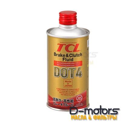 Тормозная жидкость TCL DOT4 (0,355л)