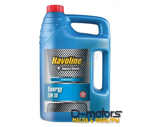 Моторное масло TEXACO HAVOLINE ENERGY 5W-30 (4л.)