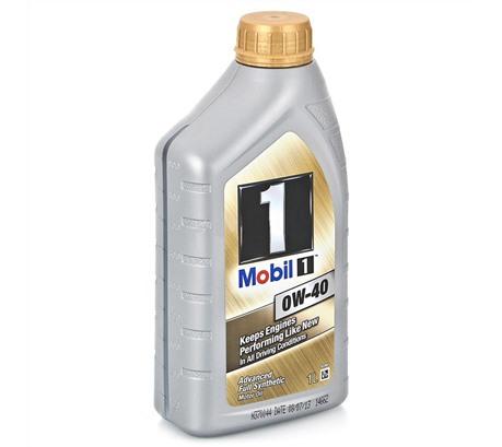Моторное масло Mobil 1 0W-40 (1л.)