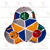 Санки надувные Тюбинг тройной (без гарантии на камеру R13), интернет-магазин Sportcoast.ru