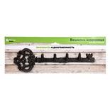 Вешалка ключница Blumen Haus 4 крючка 66024