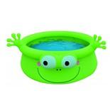 Бассейн надувной детский Jilong Frog (17399) 175х62 см