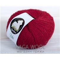 Пряжа LanasAlpaca Puha 5050 Rojo (красный), 183м/50г
